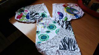 Camiseta mujer Desigual XS