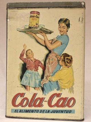 Caja de Cola-Cao para lentejas
