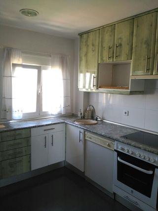 Muebles de cocina blancos y verdes de segunda mano por 400 en madrid en wallapop - Wallapop asturias muebles ...