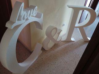 Letra decoración