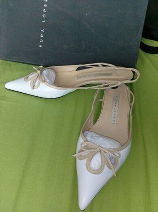 zapatos pura lopez, impecables