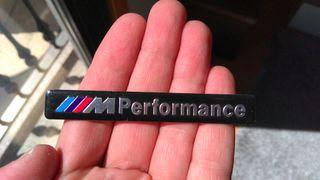 Pegatina aluminio BMW M PERFORMANCE