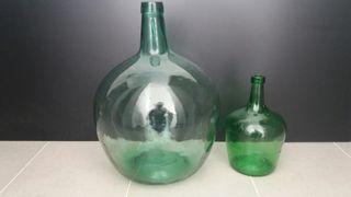 garrafa botella damajuana de cristal