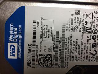 Pc/ordenador I5, 8gb RAM, 250HDD, 8usb, cd/dvd