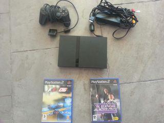 Playstation 2 + 2 juegos