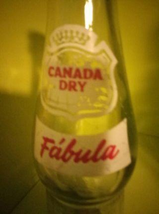 botella Canada Dry