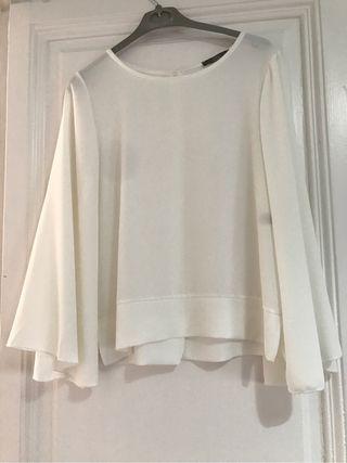 Blusa blanca Milano