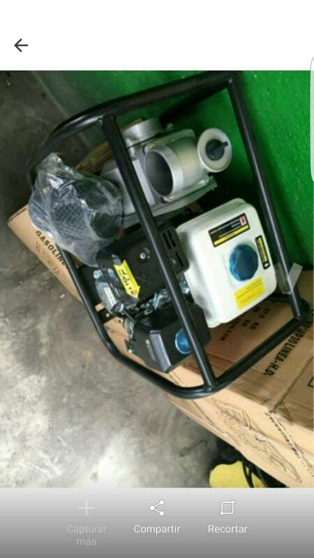 moto bomba de gasolina