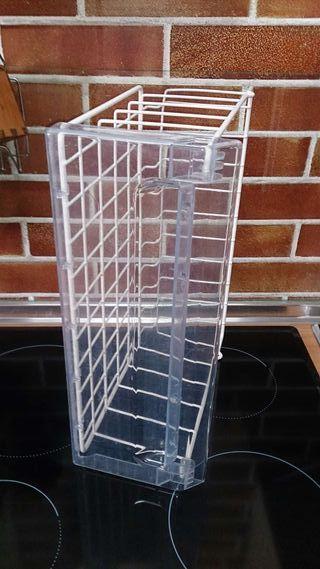 Cajón para frigorifico metálico, ideal también par