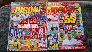 Cambio o vendo revistas Jugón Nuevas.