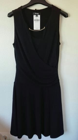 vestidos color negro. talla xs, s, 36 .