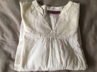 Camisa lino crudo. Calada. M/L. TRUCO. T38