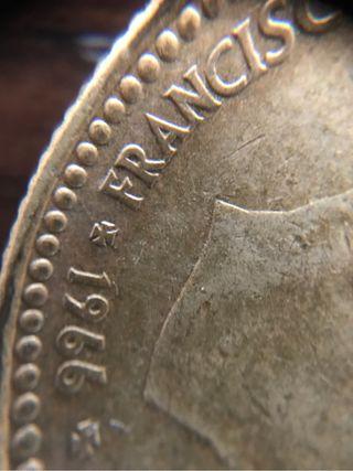 Lote Monedas de 1 pesetas franco 66