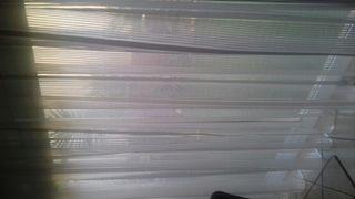Dos cortinas para hueco de 2×2