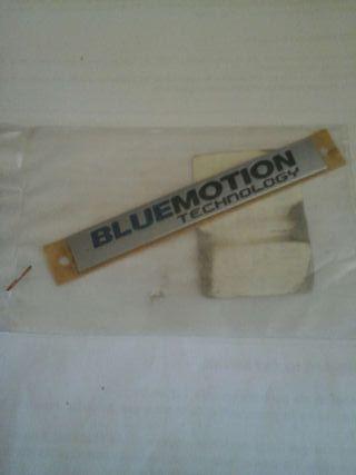 Anagrama vw bluemotion