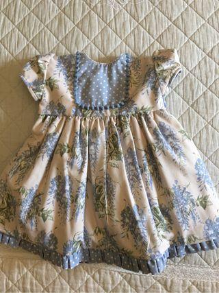 Vestido niña artesano T-24 meses
