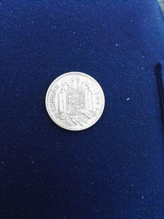 1 peseta año 1944