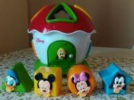 Caracol Fisher-price y casita Disney