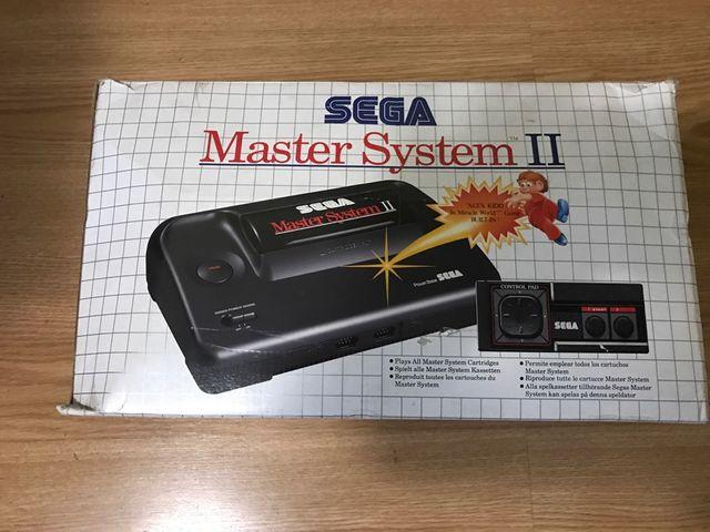 Sega Master System Ii 2 Juegos De Segunda Mano Por 100 En Oviedo
