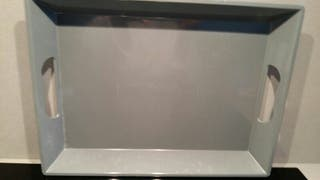 Bandeja cocina gris