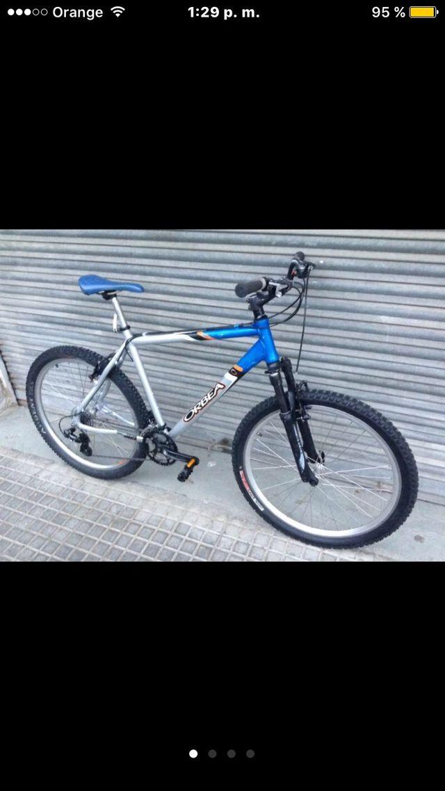 "Bicicleta mtb orbea series 26"""
