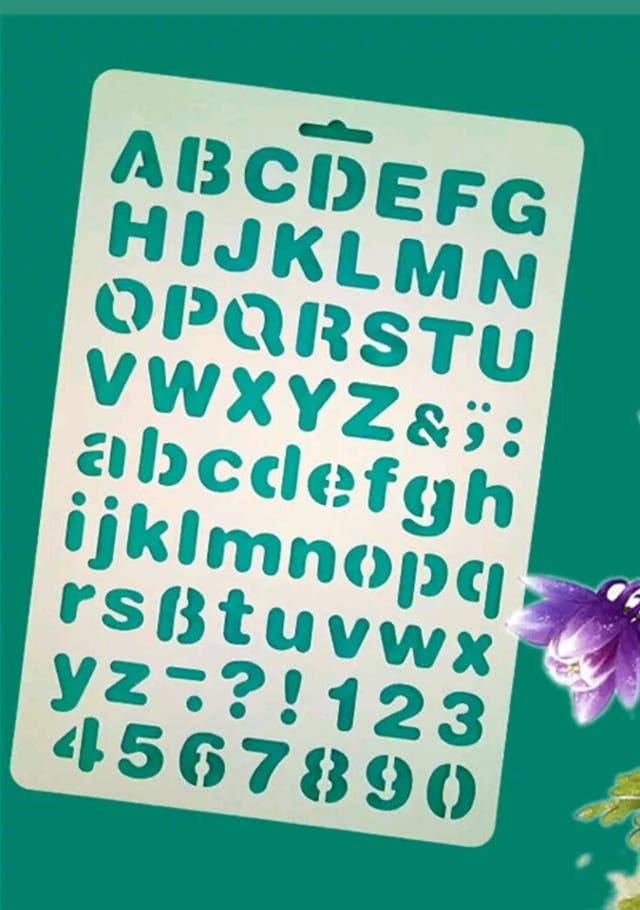Plantillas Letras Numeros Para Decoracion De Segunda Mano Por 3