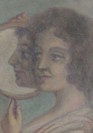 Cuadro pintura antigua