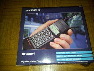 Ericsson DE 388 vi Móvil americano retro