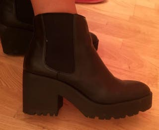Botin pull and bear talla 39