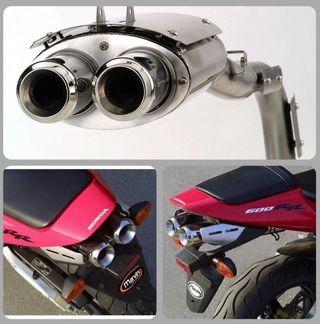 Tubo escape moto Cbr 600 Rr 03