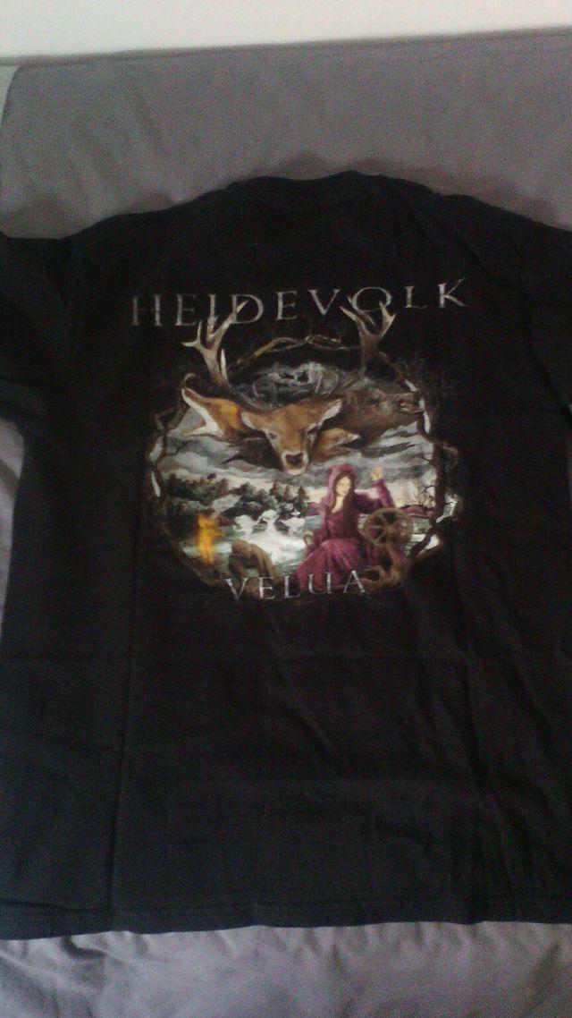 Heidevolk viking black metal talla M t-shirt