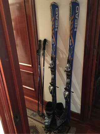 Ski equipo