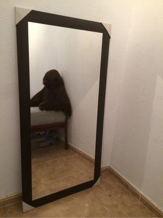 Espejo grande de segunda mano por 60 en madrid en wallapop - Espejos grandes segunda mano ...
