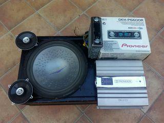 equipo de sonido Pioneer para coche