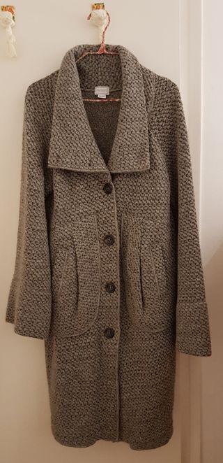 Abrigo gris TRANSIT