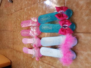 Zapatos de princesa. 4 pares.