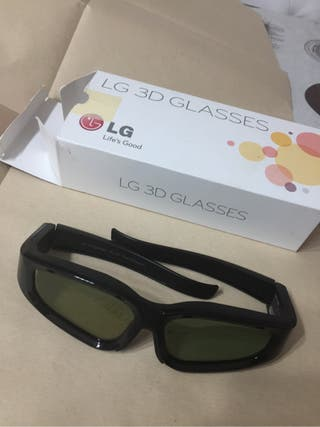 Gafas 3d activas tv lg