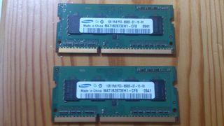 Ram Pc3 8500 Samsung 2GB (2X1GB)