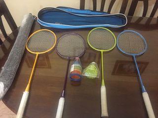 Raquetero de badminton artengo