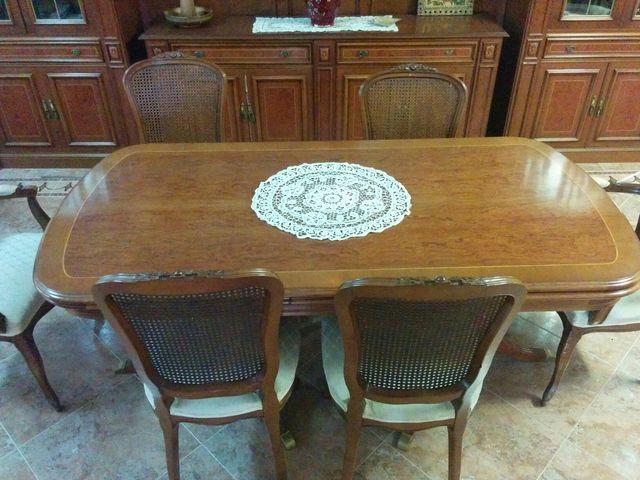mobles menjador Taula 90x1,80/3,00 altura 76.