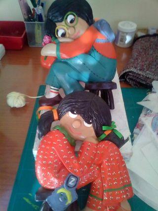 Muñecos para colgar