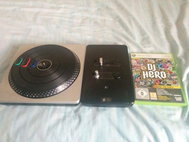 Mesa Mezclas Dj Hero Juego Xbox 360 De Segunda Mano Por 10 En