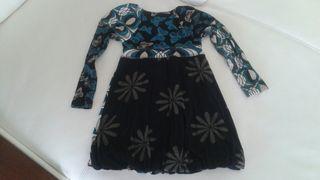 Vestido desigual Talla 3/4 años