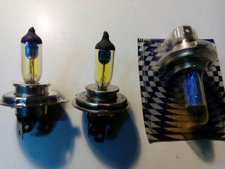 Bombillas H4 francesa amarilla