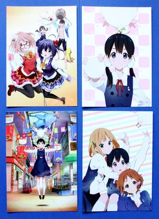 Kyoto Animation Postcards