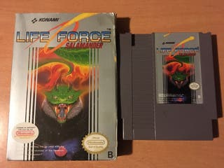 Life Force Salamander NES