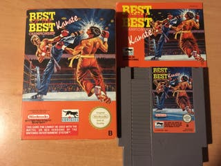 Best of Best Karate NES