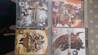 Pack 5 juegos Ps3