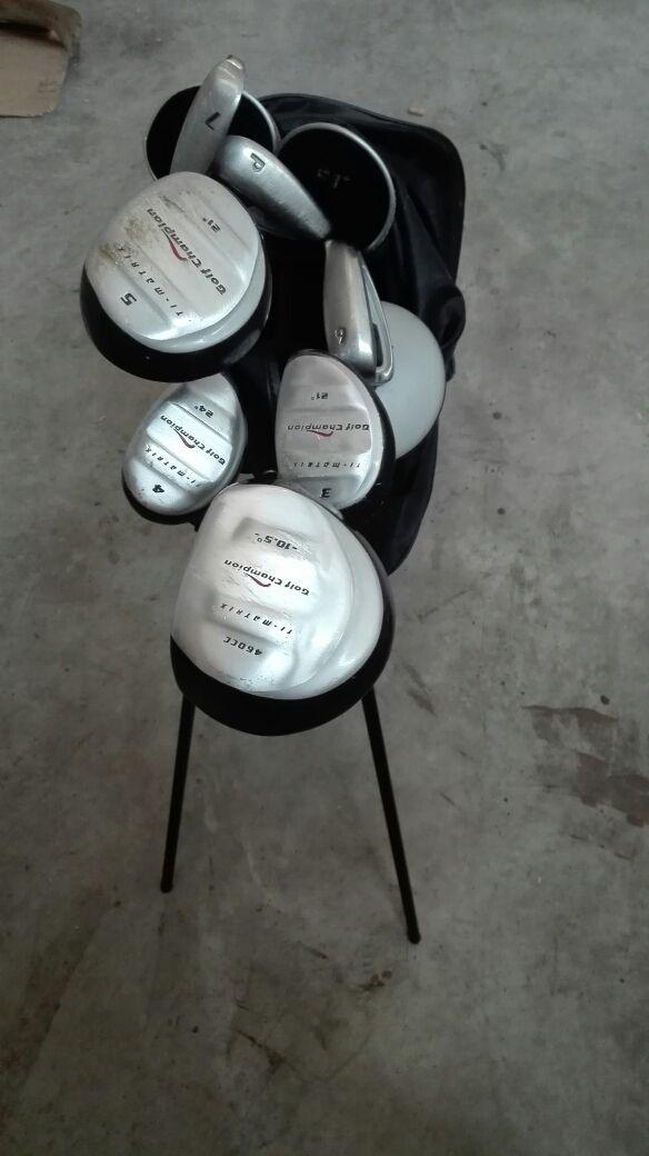 juego palos golf