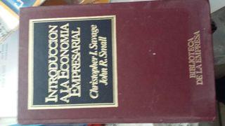libro introducción a la economía empresarial